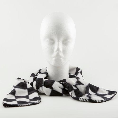 Checkered Fleece Scarf