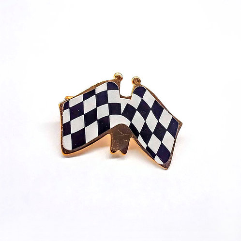 Checkered Flag Party Pin (24)