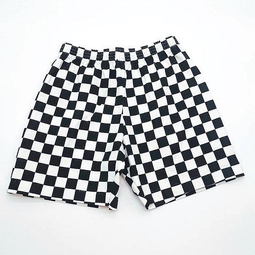 Kids Checkered Shorts