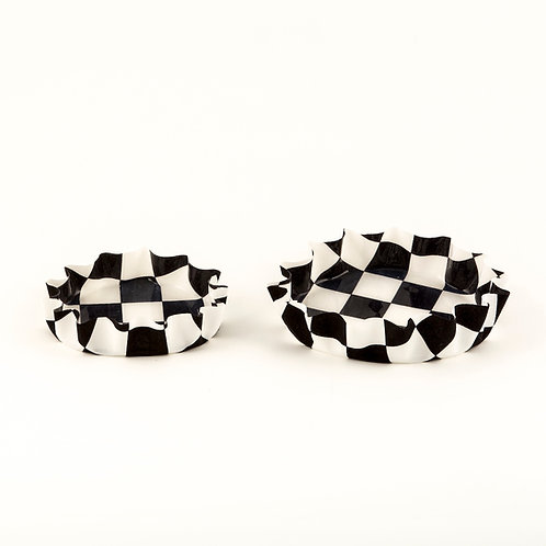 Checkered Coaster for Everything