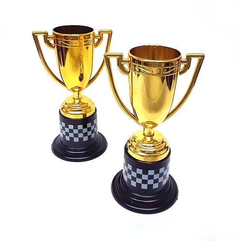 Checkered Trim Winner's Trophy
