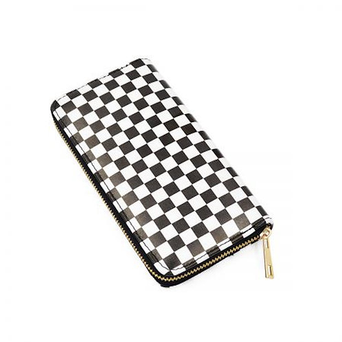Checker Pattern Wallet