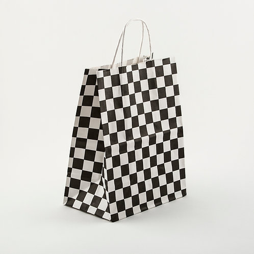Checkered Gift Bag