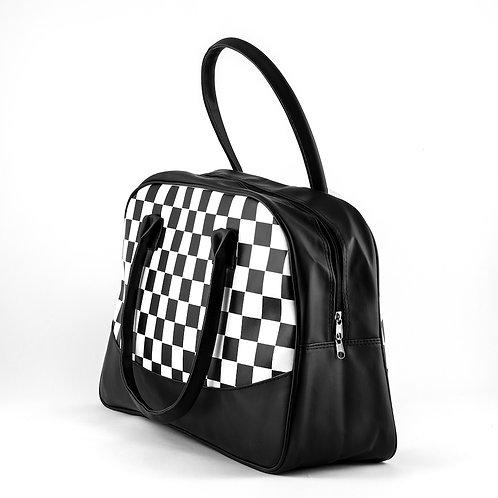 Checkered Overnight Bag