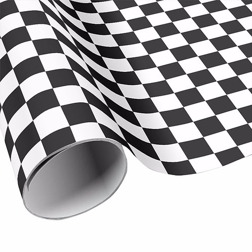 Checkered Wrapping Paper