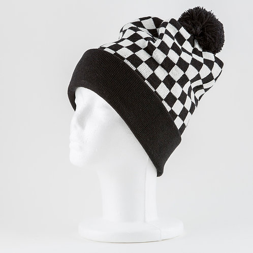 Checkered Stocking Cap