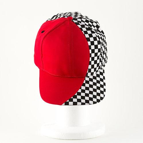 Checkered Swath Cap