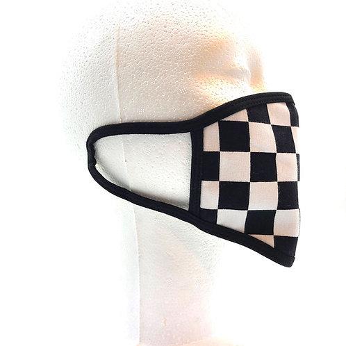 Checkered Face Mask