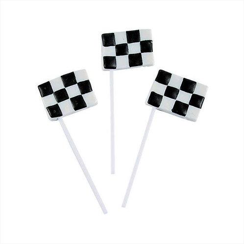 Checkered Flag Suckers
