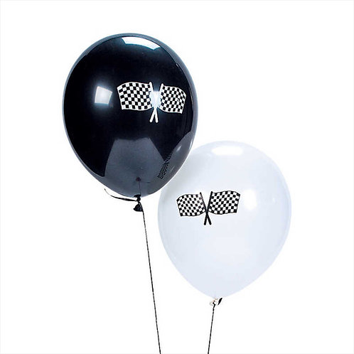 Racing Flag Balloons