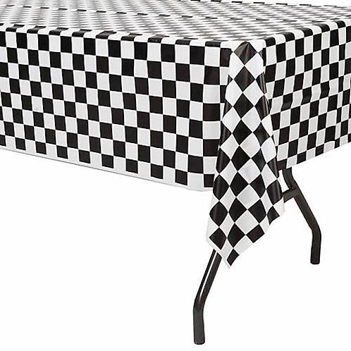 Checkered Poly Tablecloth
