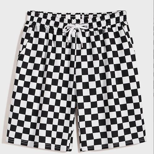 Guys Check Shorts