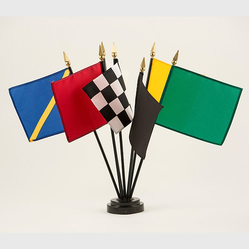 Auto Racing 7 Flag Set