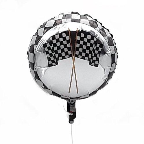 Checkered Flag Balloon