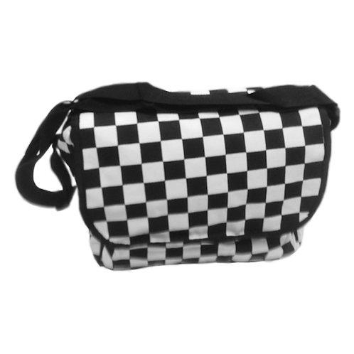 Checkered Messsenger Bag