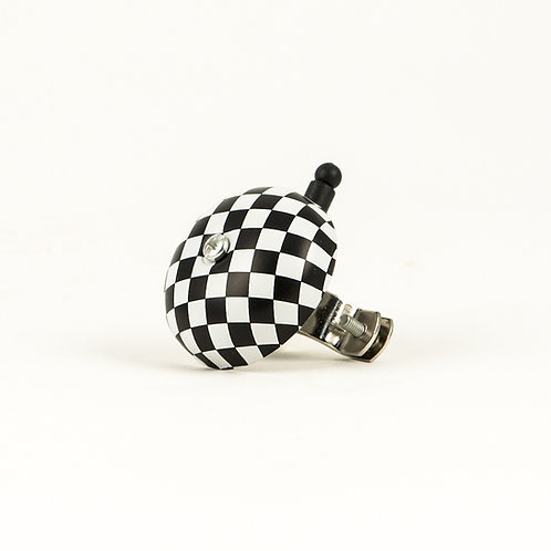 Vintage  Checkered Bicycle Bell