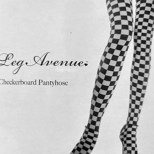 Checkered Racing Flag Pantyhose/Tights