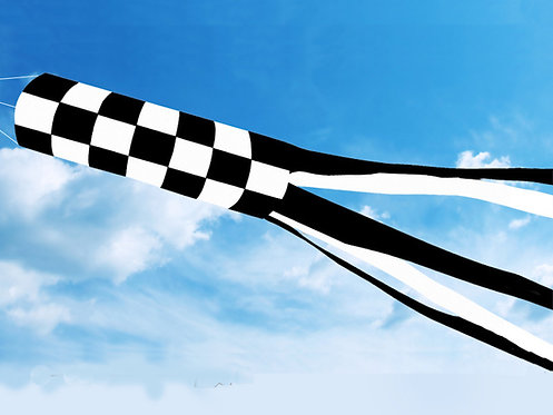 Checkered Windsock