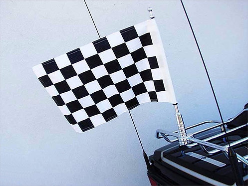 Checkered Antenna Flag
