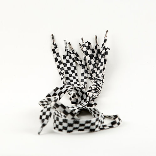 Checkered Shoelaces