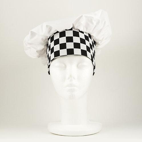 Checkered Chef's Hat