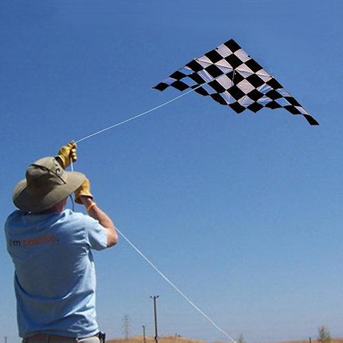Checkered Stunt Kite