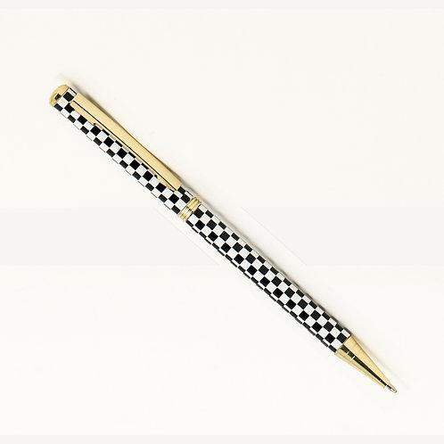 Checkered Ball Point Pen