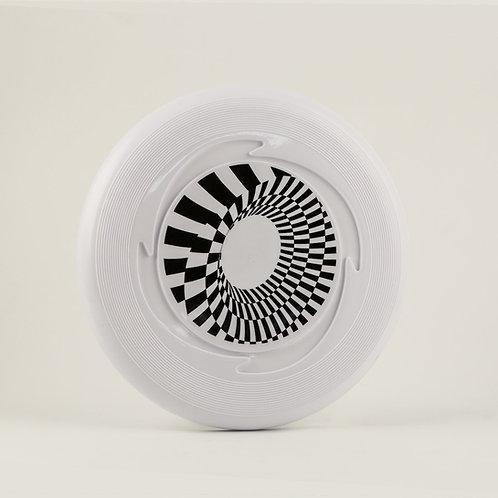 Spiral Checkered Frisbee