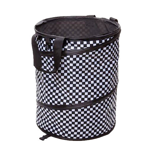 Checkered Collapsible Container