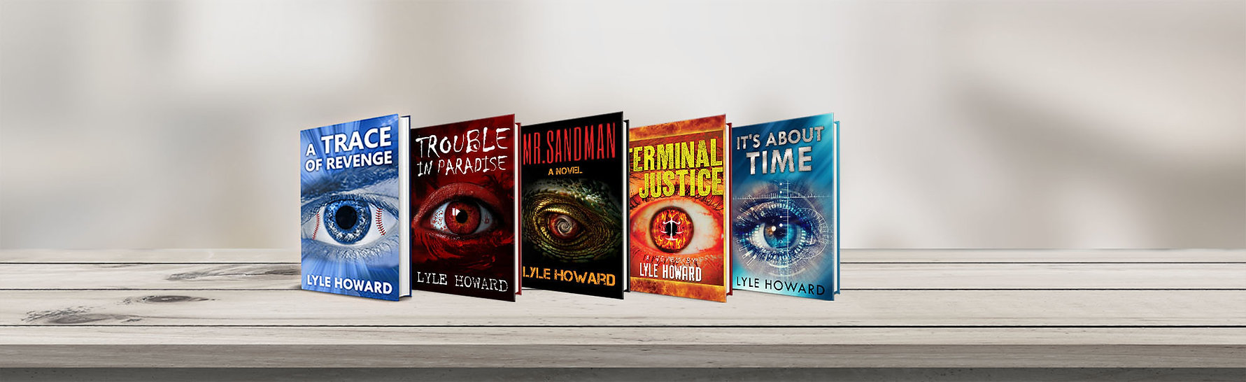 Lyle Howard books banner books page all