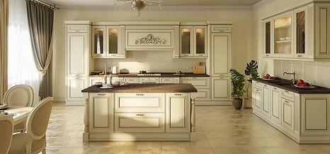 Классическая кухня, кухня на заказ
