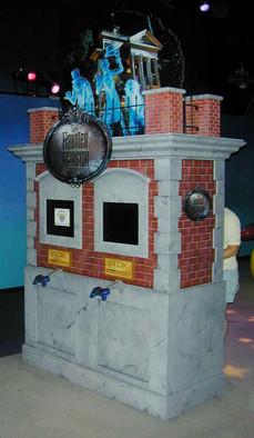 Haunted Mansion Interactive Kiosk DESIGN
