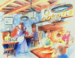 colonial restaurant DESIGN/CONCEPT