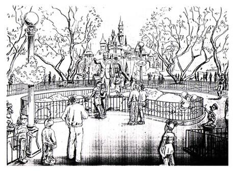 Disneyland Hub Design