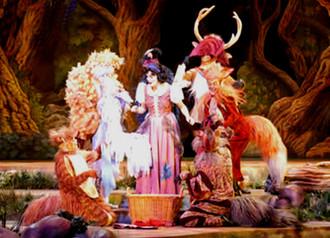 Snow White Stage Show Disnryland