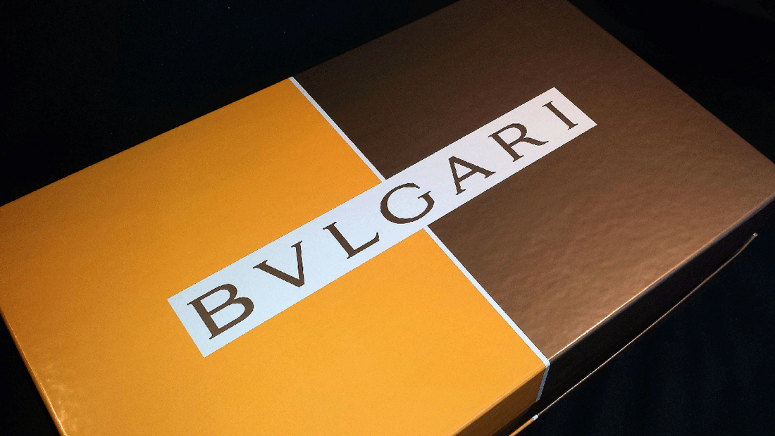 Bvlgari Box - Cover View
