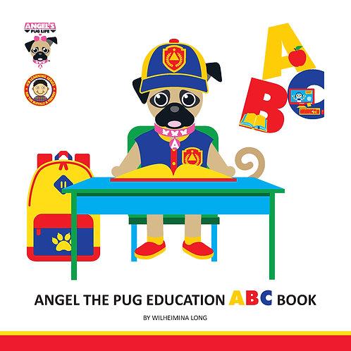 "Angel the Pug ""Education"" ABC book"