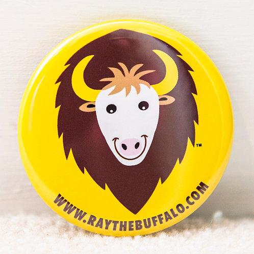 RAY the Buffalo button