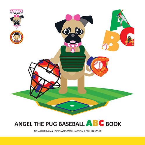 "Angel the Pug ""Baseball"" ABC book"