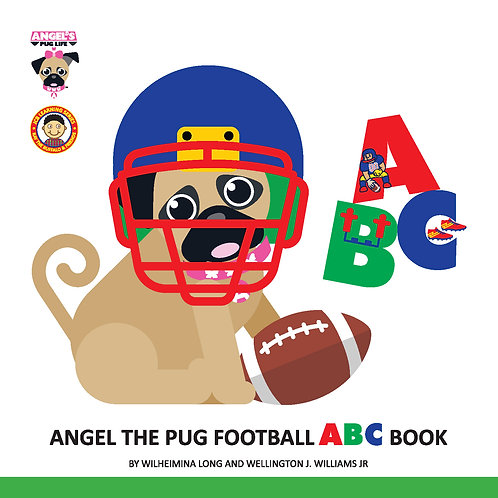 "Angel the Pug ""Football"" ABC book"