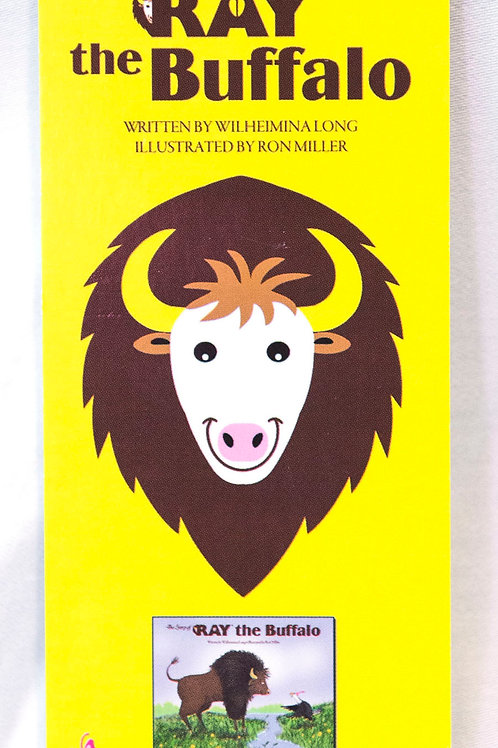 RAY the Buffalo bookmark