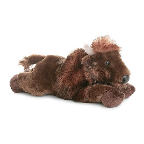 Buffalo stuffed animal (Ray)