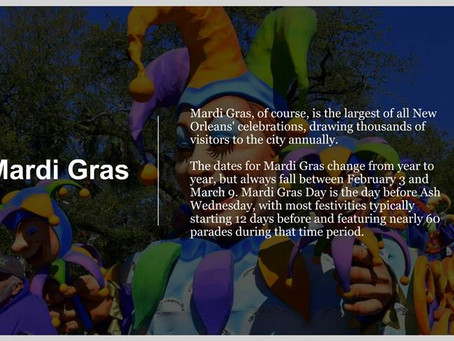 What is Mardi Gras? Get to Know NOLA (New Orleans, LA)