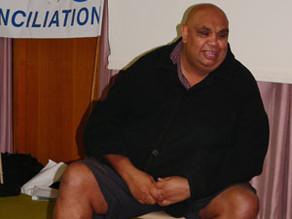 Kutcha Edwards at PPCfR's 10th anniversary celebrations, September, 2007