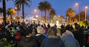 We-Ako n Dilinja mourning reflection ceremony in St Kilda