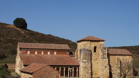 San Miguel de Escalada, un monasterio mozárabe del siglo IX sobre una iglesia visigoda
