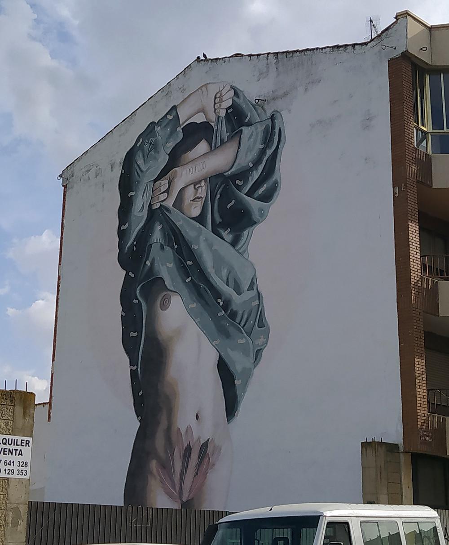 Graffiti Yo Elijo en La Bañeza