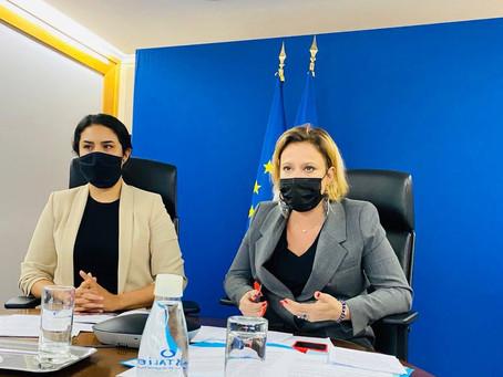 Temps d'échange avec Madame Olivia Grégoire, Secrétaire d'État chargée de l'Economie sociale