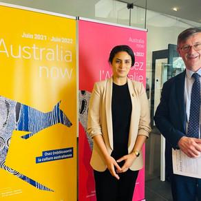 Lancement du programme Australia Now France 2021-2022