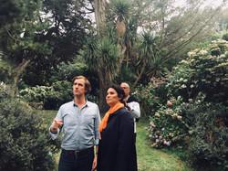 Visite du jardin botanique de Vauville